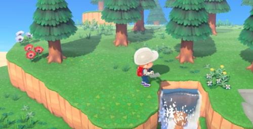 滝あつまれどうぶつの森