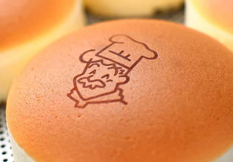 りくろーおじさんのチーズケーキ焼き印