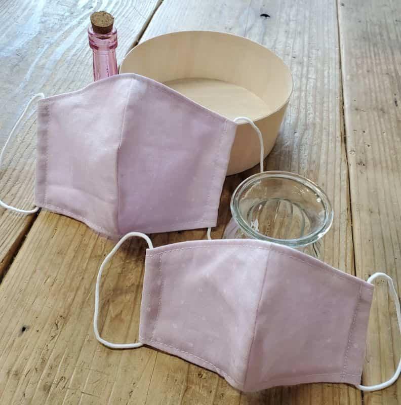 手作りマスク型紙無料ローソン大人用子供用男性女性